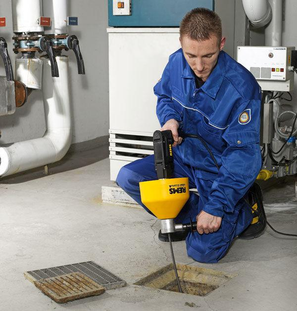 Drain-and-sewer-cleaning